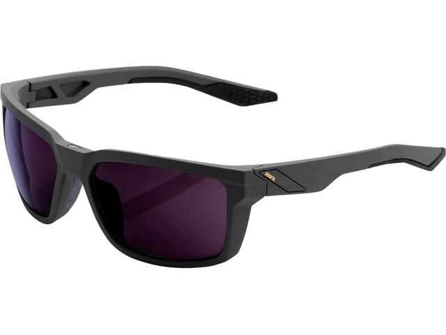 100% Daze Gafas, soft tact midnight mauve/smoke